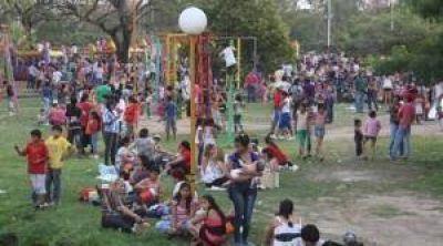 La Municipalidad de Resistencia agasajó a los niños en el Parque 2 de febrero