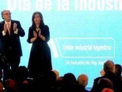 Cristina encabeza acto en Tecnópolis por el Día de la Industria