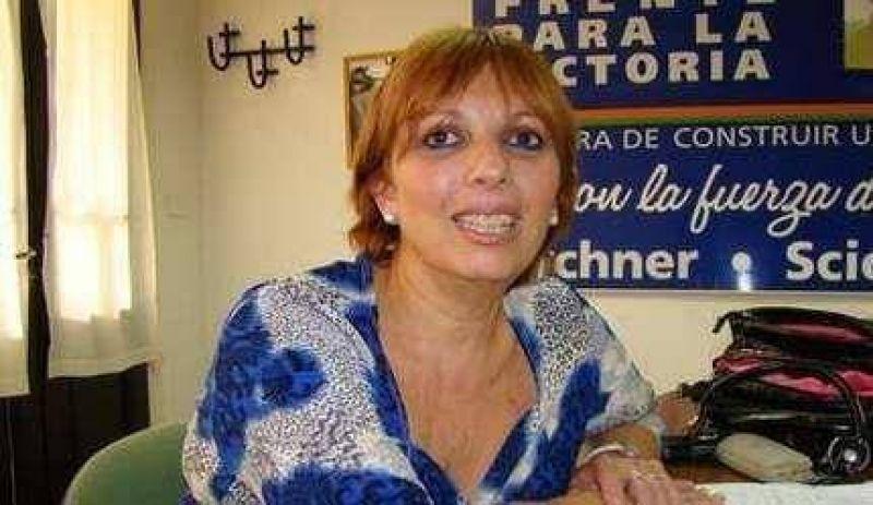 """Moreira dijo que el gobierno de Pérez """"la decepcionó"""" y disparó: """"yo no soy obsecuente ni tengo patrones"""