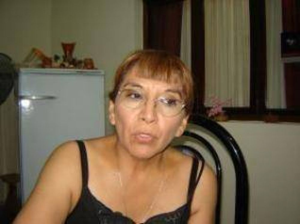 "Yolanda Canchi: ""No solamente estamos reunidos, sino que estamos unidos""."