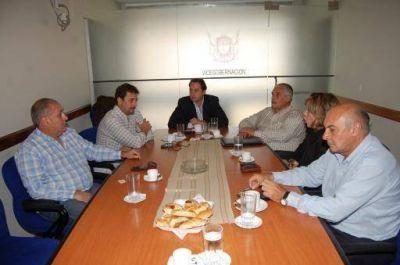 Mera se reunió con presidentes de Bloque de ambas Cámaras