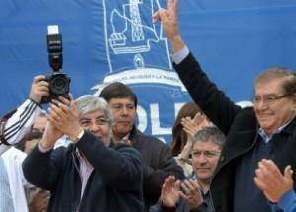 En Neuquén, la CGT inició una campaña para conseguir 1 millón de firmas