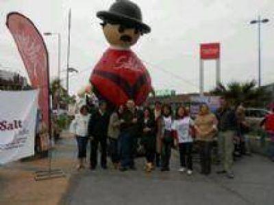 Salta se promocionó en Chile con una alegre caravana