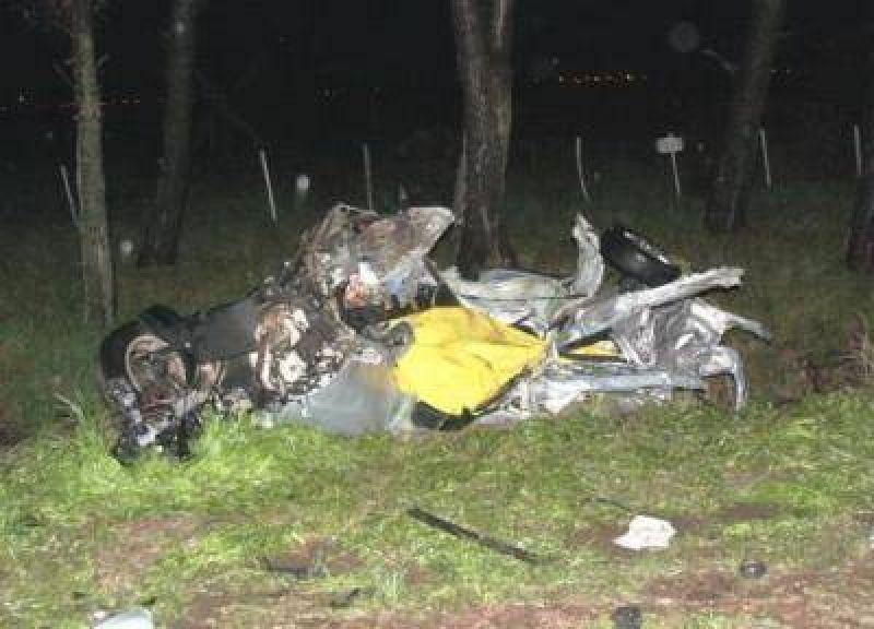 Tres muertos por un choque en Dorrego, entre ellos dos ladrones