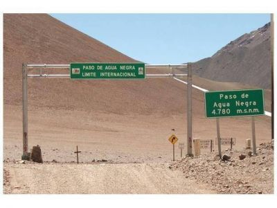 Gioja y autoridades chilenas se reunieron por el Corredor Biocéanico