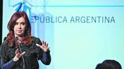 En el año, Cristina ya habló más de 15 horas por cadena