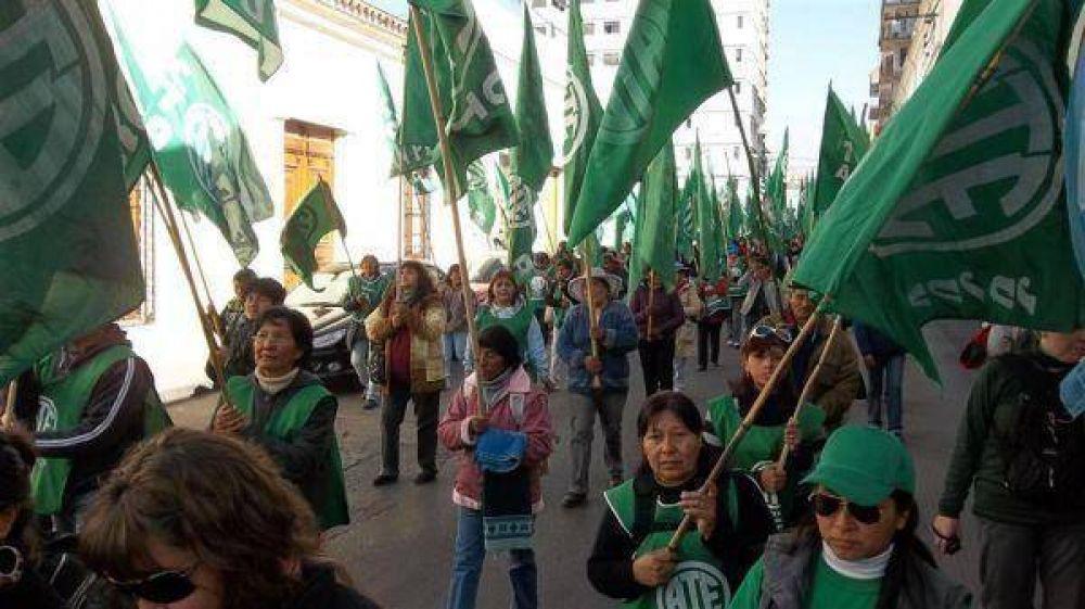 ATE Jujuy comienza hoy con fuertes medidas de fuerza contra el gobierno provincial