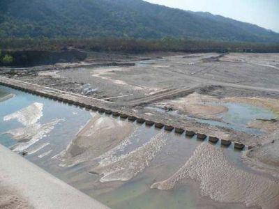 Desde Infraestructura piden celeridad en la obra de reparación del Dique Los Molinos