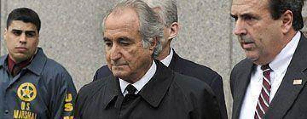 Fiscalía pedirá 150 años de prisión para Madoff