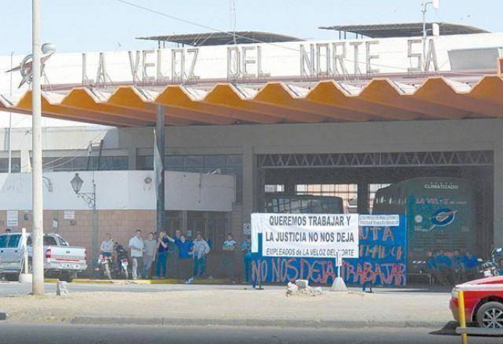 Si la Veloz no presta el servicio podría perder los recorridos en la provincia
