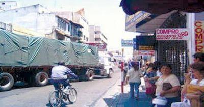 Aprueban hoy el esquema para circulaci�n de camiones