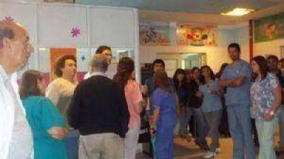 Por exceso de guardias el pago para el Hospital de Niños saldrá por decreto