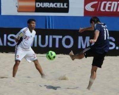 El Gobierno organizará un Mundial de Fútbol Playero