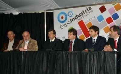 """Lamacchia: """"Esta Exposicion es la voluntad política e institucional de trabajar con un destino común"""""""