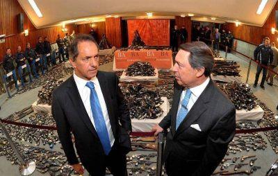 Scioli presentó proyecto de ley que busca limitar las excarcelaciones