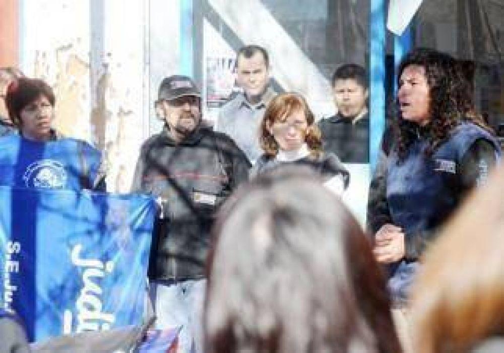 Denuncian criminalización de la protesta