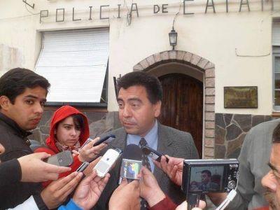 Gordillo insta al consenso por la Ley de Seguridad