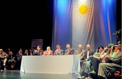 Madres abrió un congreso de salud mental y llevó su ronda a La Plata