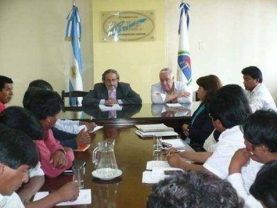 El ministro Frías se reunió con autoridades de comunas puneñas