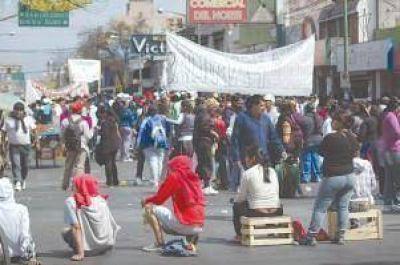 Manifestantes de los asentamientos podrían marchar el fin de semana