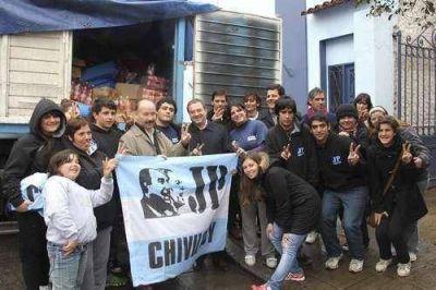 La JP de Chivilcoy entregó donaciones para inundados