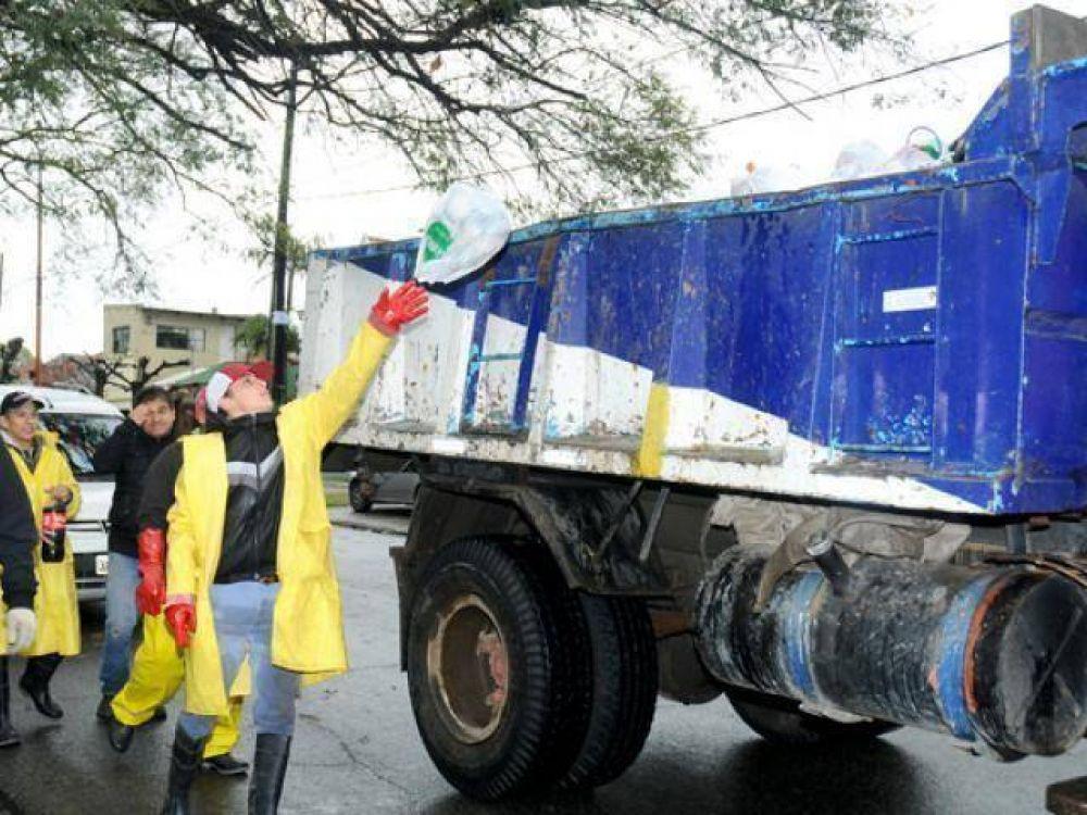 El Municipio continuó con los operativos de emergencia