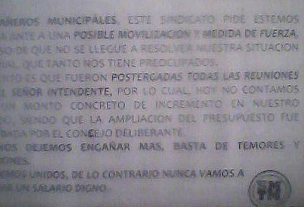 """Ballesteros y el aumento a los municipales: """"Si el intendente se sintió tocado pido disculpas"""""""