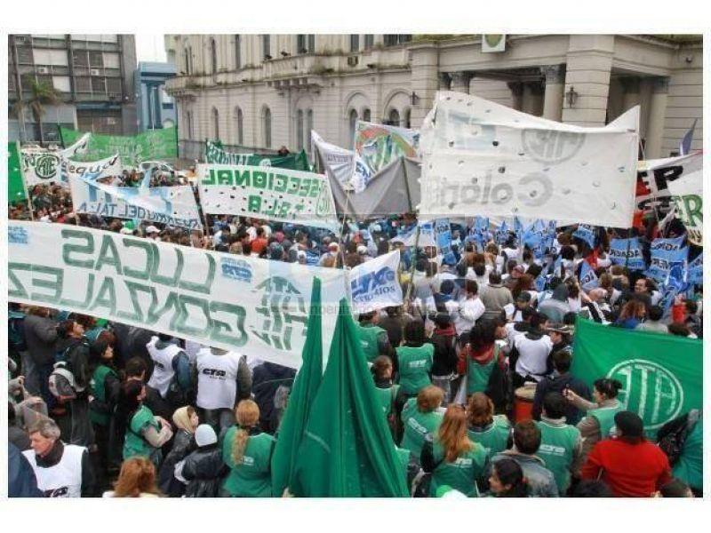 "ATE responsabilizó a CTA Paraná por ""encender la chispa"" de los incidentes"
