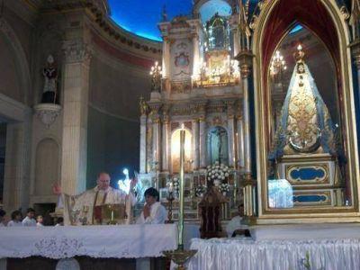 Emotiva acción de gracias de Catamarca a la Virgen del Valle a 8 años del terremoto