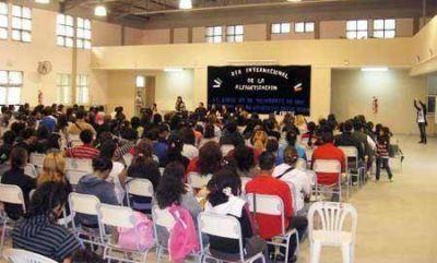 Encuentro de alfabetizadores en el Día de la Alfabetización