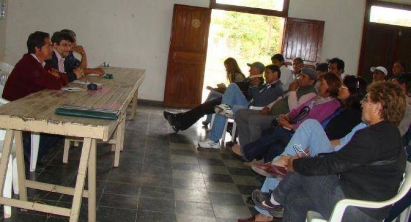 La situación general de los trabajadores municipales fue abordada en Belgrano