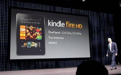 Amazon presenta el Kindle Fire HD