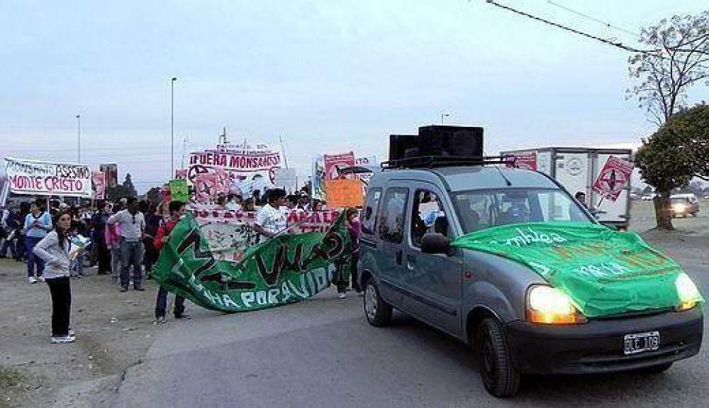 Vecinos pidieron un referéndum al municipio por Monsanto