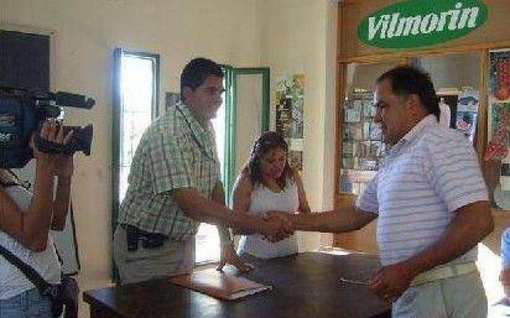 Subsidio para productores afectados por granizo.