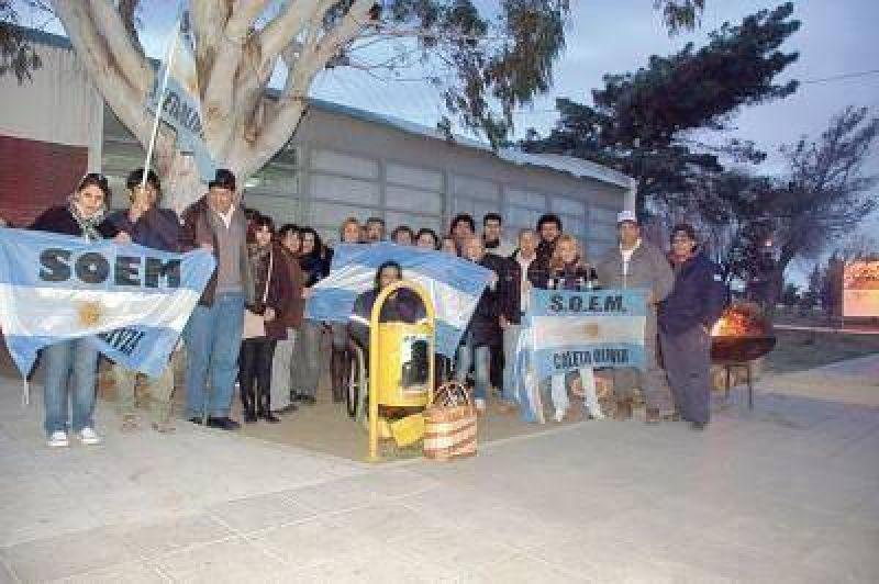 La municipalidad de Caleta Olivia y el Soem pasaron a cuarto intermedio