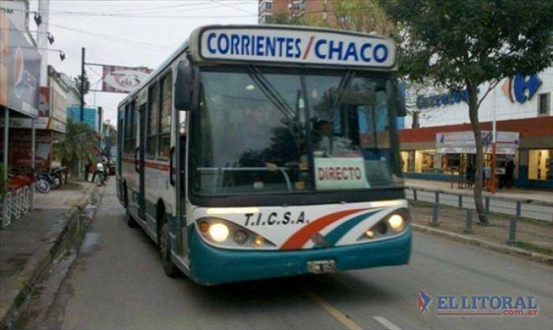 La UTA programa para mañana un paro parcial en el servicio Corrientes-Chaco
