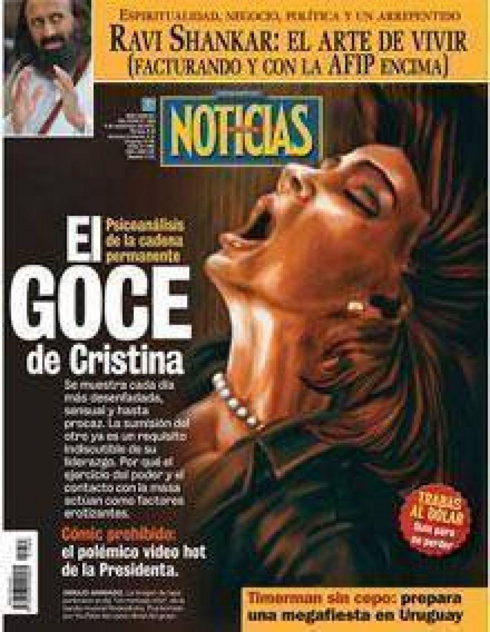 """CTA Río Negro repudia tapa del último número de la revista """"Noticias"""""""