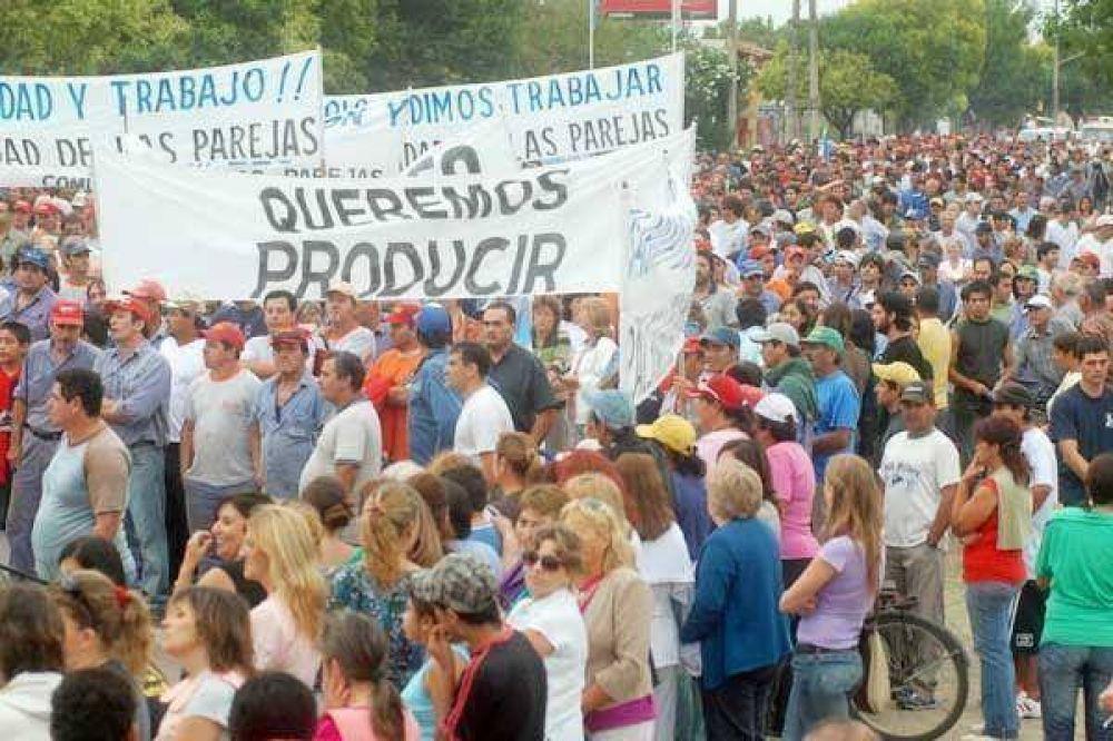 El campo vuelve a las protestas en el interior
