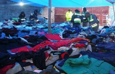 Decomisaron 3 Tn. de ropa por $ 900 mil