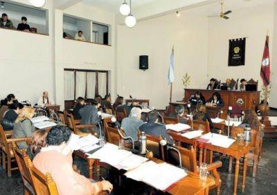 El Concejo Deliberante acordó sesionar hoy a partir de las 9