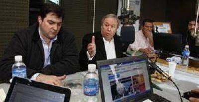 Peralta acusó al Gobierno de buscar el quiebre del orden institucional
