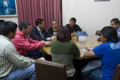 Autoridades recibieron a los familiares de Leandro Centeno