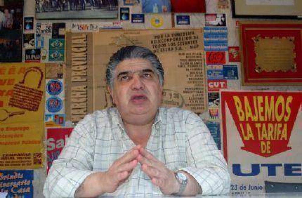Rigane apuntó contra Paredi en el posible traspaso de la Cooperativa Eléctrica de Mar Chiquita