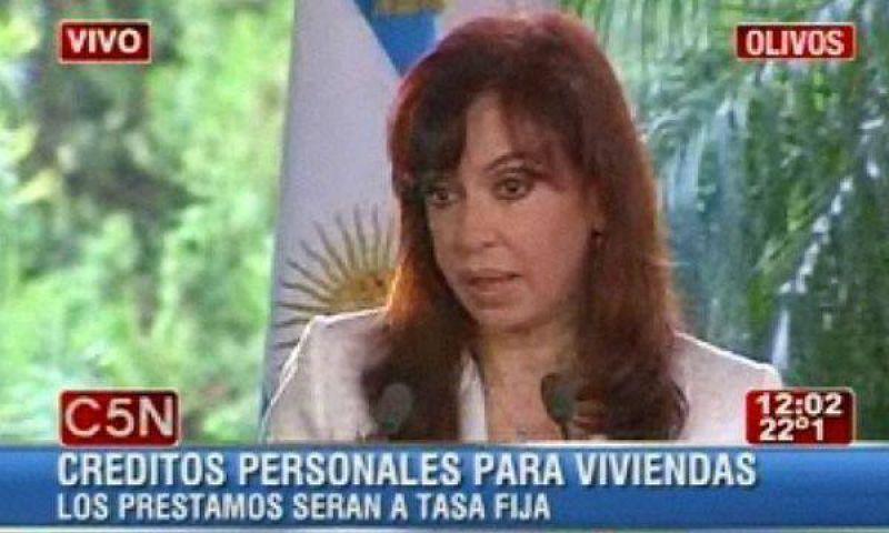 Cristina Kirchner cuestionó a