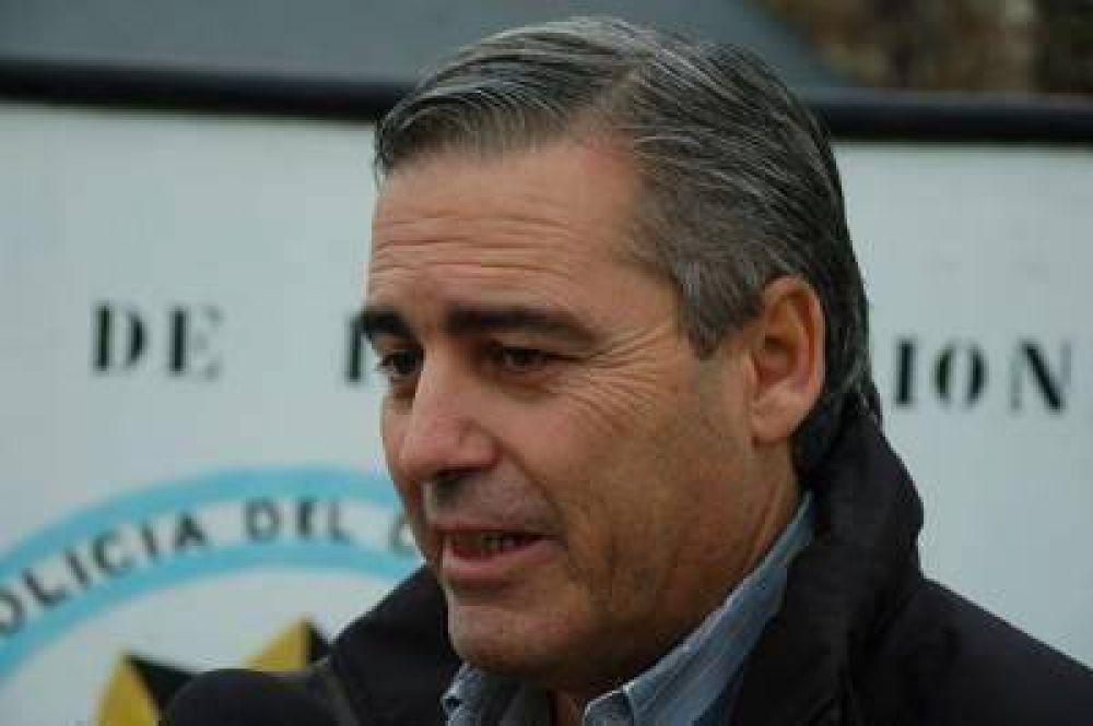 """Touriñán dijo que """"la actividad fue normal en toda la provincia"""""""