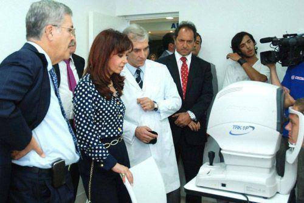 HURLINGHAM Inauguraron un Hospital de Ojos para Hurlingham