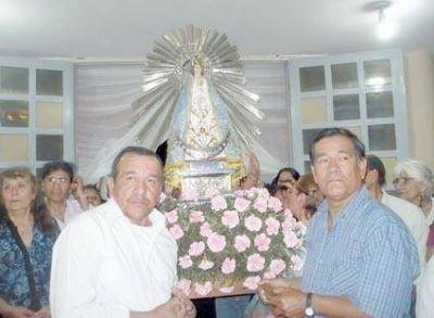 Cuasi parroquia honra a la Señora del Milagro En Libertador