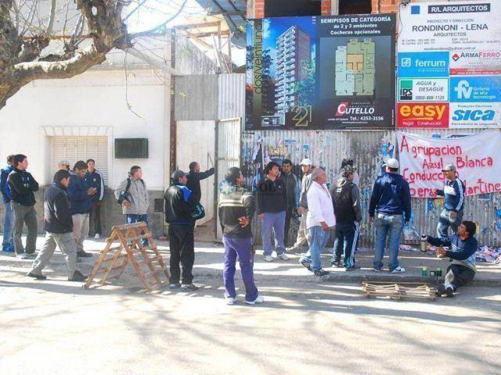"""""""La UOCRA está acéfala"""""""