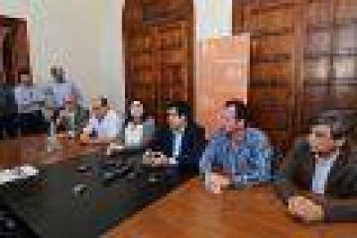 Inundaciones: el Comité de Cuenca resolvió cerrar las compuertas de Esteban De Luca