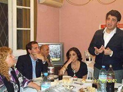 Jorge Macri visitó el distrito y el PRO arma el 2013